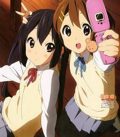 Find images and videos about anime, kawaii and yui on We Heart It - the app to get lost in what you love. K On Anime, Manga Anime, Kawaii Anime Girl, Anime Art Girl, K On Yui, Azusa Nakano, Moe Manga, Tamako Love Story, Kyoto Animation