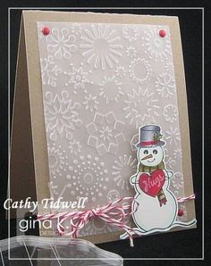 Bring it on! the snow that is, lol! by catdidit - Cards and Paper Crafts at Splitcoaststampers