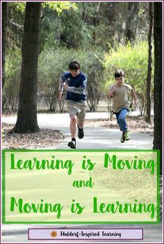 7 tips for how to make your homeschool more boy-friendly by incorporating more time for moving.