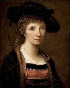 Angelica Kauffman, Autoritratto 1781 BJD