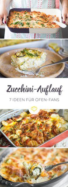 Wenn du alles, was aus dem Ofen kommt, liebst, sind diese Rezepte genau das Richtige für dich. Zucchini überbacken mit Kartoffeln, Auberginen, Parmesan...