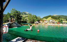 Hotel Kronenhirsch in Russbach, Dachstein West Salzburg Austria, Mountain S, Alps, Romania, Hiking, Nature, Holiday, Lifestyle, Natural Bathroom
