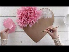 Seidenpapier Puffy Heart Valentinstag Fensterdekoration DIY Papercraft crafts for kids for teens to make ideas crafts crafts Easy Craft Projects, Easy Crafts, Crafts For Kids, Craft Ideas, Heart Projects, Summer Crafts, Creative Crafts, Creative Design, Tissue Paper Crafts