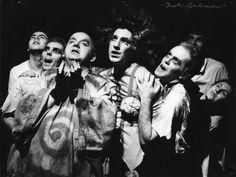 Bristol Old Vic through the years.  Alan Rickman in Ubu Rex 1977-1978 (source: WhatsOnStage )