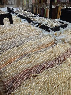 Pearls are everywhere! Get your fix at the Whole Bead Show this weekend in #NYC. At the Metropolitan Pavilion 125 W 18th Street. #beads #freshwaterpearls #jewelrymaking #supplies #wholebeadshow
