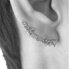 would love an earring like this
