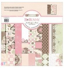 Pack Paper pad Primrose Collection Pack 12x12 Bo Bunny