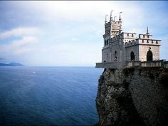 Swallow's Nest (Yalta, Ukraine) it almost doesn't look real