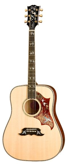 The Gibson Doves in Flight Acoustic Guitar www.the1guitar.com