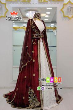 Tesettür Kaftan-9011 Elegant Dresses, Pretty Dresses, Beautiful Dresses, Wedding Dresses For Girls, Bridal Dresses, Indian Designer Outfits, Designer Dresses, Turkish Wedding Dress, Victorian Ball Gowns