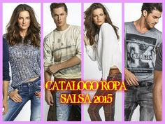 CATALOGO ROPA SALSA 2015
