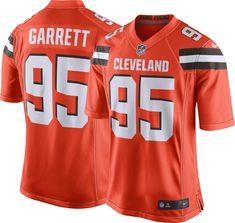 9bd98be6e Nike Men s Alternate Game Jersey Cleveland Myles Garrett  95