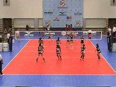 2008 Girls Volleyball Junior Olympics 13 National Championship Match Set 2  Dallas Texas  Saint Louis CYC Volleyball Club  Jammers Volleyball Club