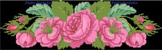 Cross Stitch, Flowers, Roses, Boutique, Bag, Ideas, Embroidered Towels, Bath Linens, Face Towel