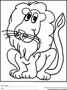 colouring pages for kids animals Coloring Pages for Kids