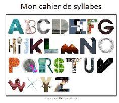 Le cahier de syllabes - Chatoubistouille