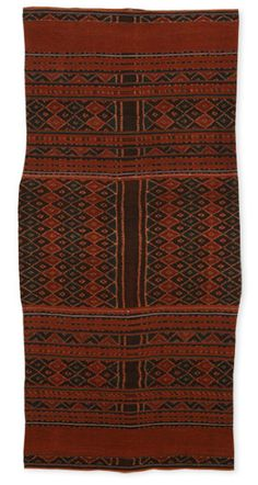 Our Textile: Kwatek Nai Telo - Tubular Skirt for Ceremonial Exchange (2006) - Threads of Life