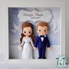 Personalised Wedding box frame Picture box frame Wedding