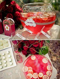 Little Red Riding Hood Inspired Desert table