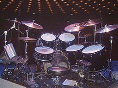 Steve Gadd's drum setup