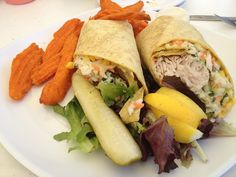 Mahi Mahi wrap Runner Diet, Mahi Mahi, Fresh Rolls, Orlando, Eat, Ethnic Recipes, Food, Orlando Florida, Essen
