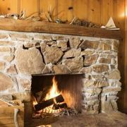 How To Build A Faux Stone Surround For Electric Fireplace