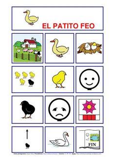 cuentos infantiles en imagenes con pictogramas de orientacion andujar