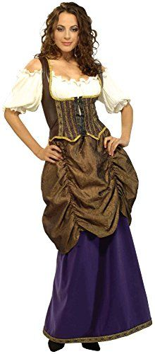 Forum Novelties Womens Designer Collection Pirate Wench Costume Multi Large ** Learn more by visiting the image link.