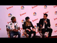 The Voice Champion Sawyer Fredricks, Pharrell William & Carson Daly (Part 1) - YouTube