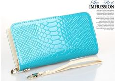 Girl-Women-Zip-Bag-PU-Leather-Long-Purse-Clutch-Wallet-Card-Holder-Fashion