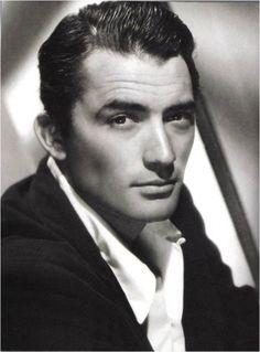 beautiful man Gregory Peck