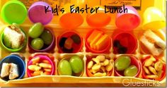 Fun Easter Lunch Idea #easter #lunch #kids