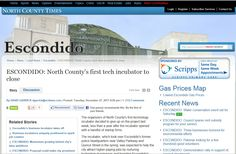 City of Escondido Incubator closes almost as quickly as it was unveiled