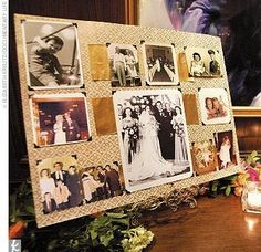 display family wedding photos