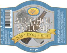Alcohol By Volume on MoreLikeRadio.com