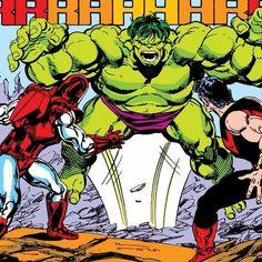 Comic Art Fans, Comic Books Art, Book Art, Bruce Banner, Marvel Heroes, Marvel Comics, John Byrne, Hulk Smash, Age