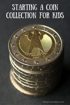 Starting A Coin Collection For Kids. This can be a fun bonding experience.