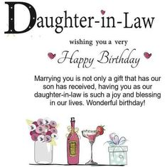 Daughter In Law Birthday Images