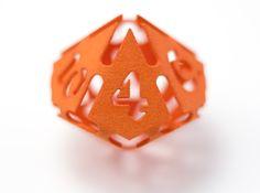Big die 10 / d10 28mm / dice set 3d printed a big die 10