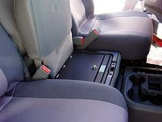 Shop for a durable and secure under-seat gun safe for your Dodge Ram. Protect your firearms or other valuables in a discreet vehicle vault at Console Vault. Chevy Trucks Older, Lifted Cars, Lifted Chevy Trucks, Lifted Ford Trucks, Ram Trucks, Pickup Trucks, Dodge Ram 1500 Accessories, Truck Accessories, Truck Mods