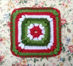 Ravelry: Project Gallery for Granny Square 36 pattern by Carole Prior