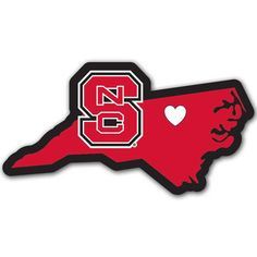 """Checkout our #LicensedGear products FREE SHIPPING + 10% OFF Coupon Code """"Official"""" N. Carolina St. Wolfpack Home State Decal - Officially licensed College product Repositionable vinyl decal Popular home state style State outline in team colors Crisp N. Carolina St. Wolfpack graphics - Price: $14.00. Buy now at https://officiallylicensedgear.com/n-carolina-st-wolfpack-home-state-decal-chsd79"""