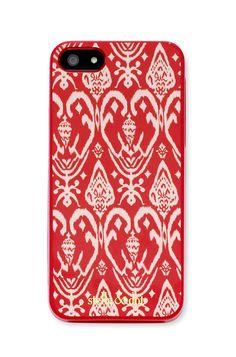 Decorative Red Ikat Print iPhone Case   Signature iPhone Case   Stella & Dot