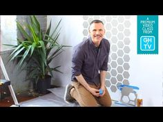 Learn How To Make a Stencil Painting at GoodHousekeeping