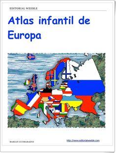 "Recursos didácticos para imprimir, ver, leer: ""Atlas infantil de Europa"" de Marian Guimaraens"