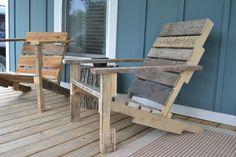 Zelfmaakidee: maak een tuinstoel van een houten pallet