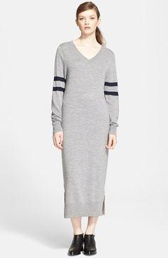 T by Alexander Wang Merino Wool Midi Dress