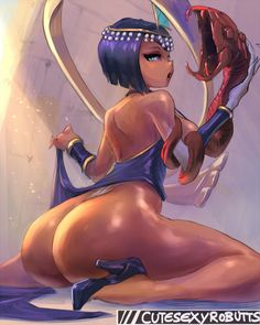 Skullgirls Ero Fanart Video Games Pictures Luscious