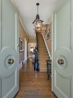 "The Real ""Full House"" Victorian For Sale in San Francisco -- love the entry hall!"