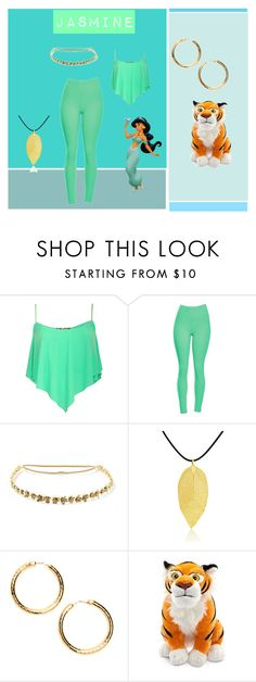 """""""jasmine #1 disney princess"""" by brittneycool10 on Polyvore featuring Pilot, Jennifer Behr, Bling Jewelry and Disney"""